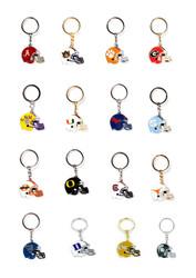 NCAA Helmet Key Chain - Choose Your Team