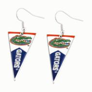 University of Florida Pennant Earrings