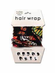 Butterflies Hair Wrap