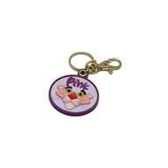 Pink Panther Rubber Key Chain