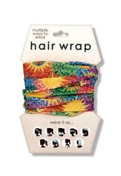 Color Bursts Hair Wrap