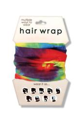 Tie Dye Hair Wrap