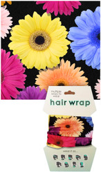 Flowers Hair Wrap