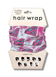 Superman Pink Hair Wrap