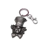 Alice in Wonderland Movie Mad Hatter Pewter Keychain