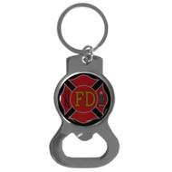 Firefighter Bottle Opener Key Chain