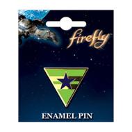 Firefly Blue Sun Enamel Pin