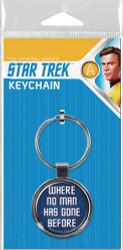 Star Trek Where No Man Has Gone Before Keychain