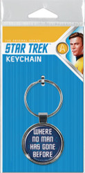 Star Trek Where No Man Has Gone Before Keychain