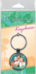 Golden Girls Squad Goals Keychain