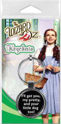 Wizard of Oz Wicked Witch is Dead Keychain
