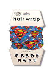 Superman Hair Wrap