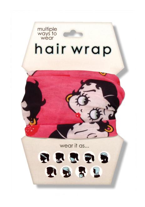 Betty Boop Hair Wrap