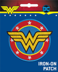 Wonder Woman Logo Full Color Iron-On Patch