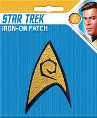 Star Trek Command Insignia Full Color Iron-On Patch