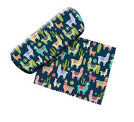 Llamas Eyeglass Case and Cleaner