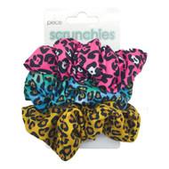 Leopard Scrunchies (3-Pack)