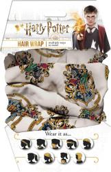 Harry Potter Hogwarts Crest Hair Wrap