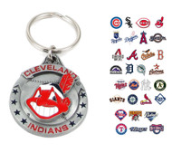 MLB Sculpted Pewter Keychain - Choose Your Team