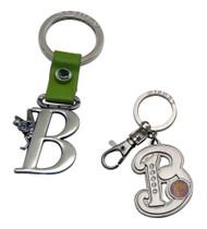 Tinker Bell Letter B Pewter Keychains