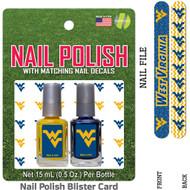 University of Iowa Nail Polish Team Colors with Nail Decals & Nail File