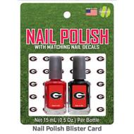 University of Alabama Nail Polish Team Colors and Nail Decals
