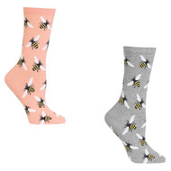 Bundle 2 Items: Cotton Candy Black and Pink One Size Fits Most Womens Socks