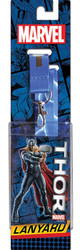 Marvel Comics Thor Reversible Lanyard with Breakaway Clip and ID Holder