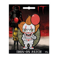 It Pennywise Chibi Full Color Iron-On Patch