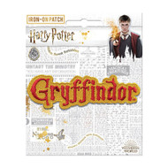 Harry Potter Gryffindor Name Full Color Iron-On Patch