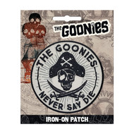 The Goonies Never Say Die Full Color Iron-On Patch