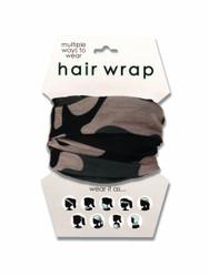 Camo Hair Wrap