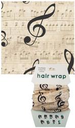 Music Hair Wrap