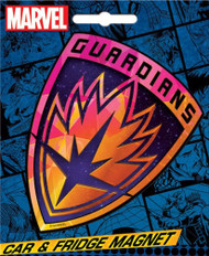 Guardians of the Galaxy Logo Car & Refrigerator Magnet