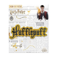 Harry Potter Hufflepuff Name Full Color Iron-On Patch
