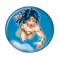 "DC Comics Wonder Woman Blue 1.25"" Pinback Button"