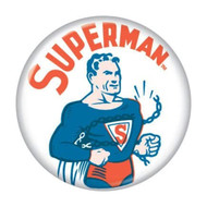 "DC Comics Superman Chains 1.25"" Pinback Button"