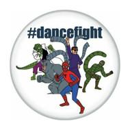 """Spider-Man Spidey 1960s Dancefight 1.25"""" Pinback Button"""