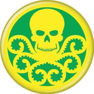 "Marvel Comics Hydra Logo 1.25"" Pinback Button"