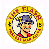 "DC Comics The Flash Fastest Man Alive 1.25"" Pinback Button"