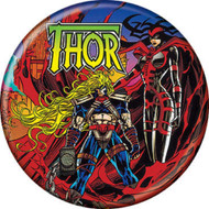 """Marvel Comics 1980s Thor #502 Cover 1.25"""" Pinback Button"""