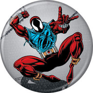 """Marvel Comics 1980s Web of Spider-Man #118 Cover 1.25"""" Pinback Button"""