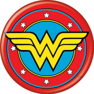 "DC Comics Wonder Woman Logo 1.25"" Pinback Button"