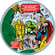 "Marvel Comics 1980s Avengers #1 Detail Cover 1.25"" Pinback Button"