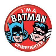 "DC Comics I'm a Batman Crimefighter 1.25"" Pinback Button"