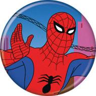 """Spider-Man Spidey 1960s Waving 1.25"""" Pinback Button"""