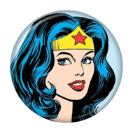 "DC Comics Wonder Woman Head 1.25"" Pinback Button"