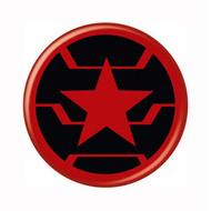 "Marvel Comics Winter Soldier Logo 1.25"" Pinback Button"