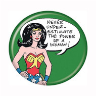 "DC Comics Wonder Woman Power of Woman 1.25"" Pinback Button"
