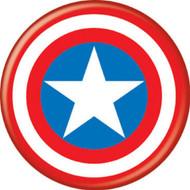"Marvel Comics Captain America Sheild 1.25"" Pinback Button"